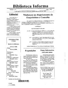v.1, n.1-3, maio, 1996